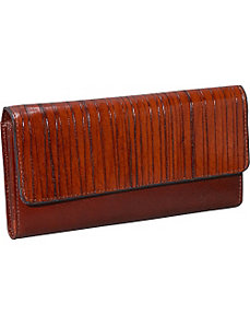 Monserrate Collection Clutch Wallet by Jack Georges