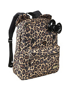 Hello Kitty Leopard Backpack with Ears by Loungefly