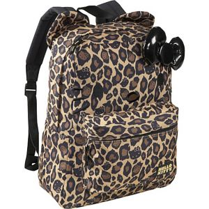 Hello Kitty Leopard Backpack with Ears