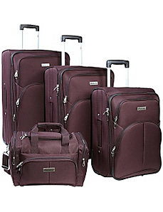 Lightweight 4 Piece Luggage Set by McBrine Luggage