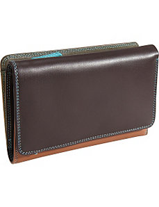 Medium Tri Fold Wallet with Zip by MyWalit