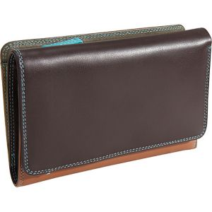 Medium Tri Fold Wallet with Zip