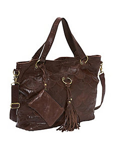 Cherokee Leather Tote by AmeriLeather