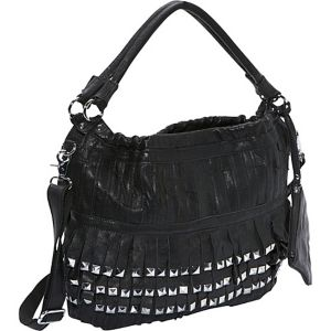 Studded Tutu Leather Hobo
