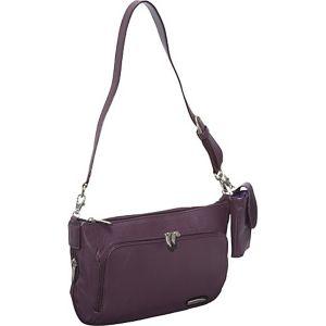 Leather East/West Shoulder Bag