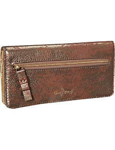 Crosby Metallic Slim Wallet by Cole Haan