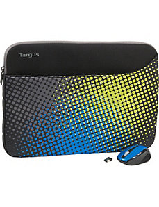 Octave Blue Neoprene Sleeve and Mouse by Targus