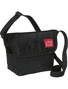 Midnight NY Messenger Bag by Manhattan Portage