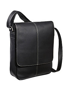 Flap Over E-Reader/iPad Bag by Le Donne Leather