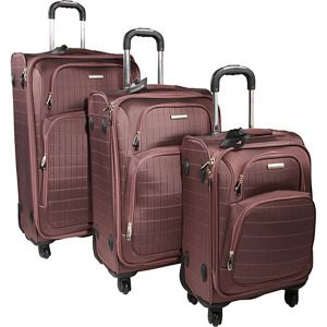 Vivanti 3 Pc Spinner Luggage Set