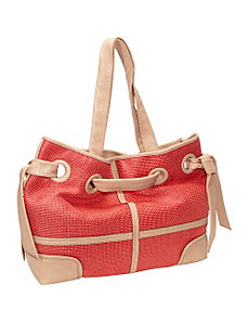 Rose Raffia Tote by Kooba