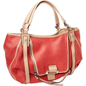 Jonnie Raffia Pouch Pocket Shopper