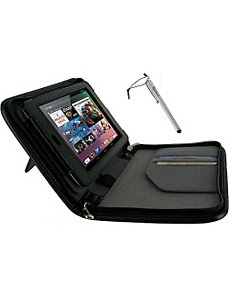 2n1 Executive Leather Case w/ Stylus for Google Ne by rooCASE