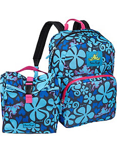 Peace Frogs Day Trippin' Backpack & Lunch Combo by Peace Frogs