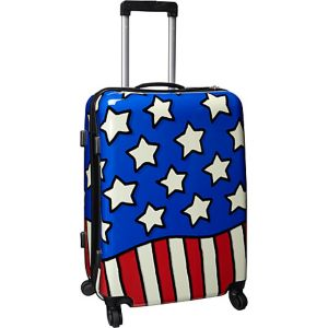 "Stars n Stripes 25"" Hardside Spinner"