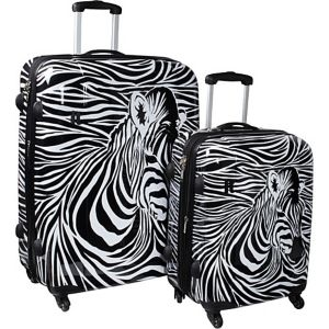 Zebra Head 2 Piece Exp. Spinner Set