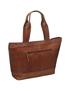 Top Zip Tote Handbag by R & R Collections