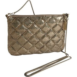 Quilted Mesh Crossbody