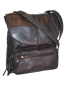 Convertible Cross Body to Back Pack with Front Car by Nino Bossi