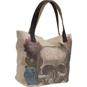 Skull Flower Tote