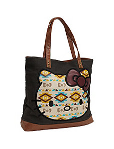 Hello Kitty Southwestern Tote by Loungefly