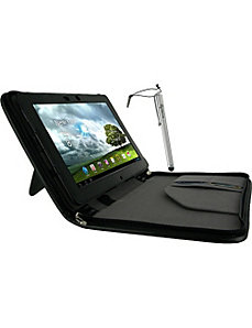 Executive Leather Case w/ Stylus for Asus Transfor by rooCASE
