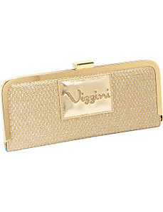 We Mesh Together  Gold Wallet/Clutch by Vizzini Inc.
