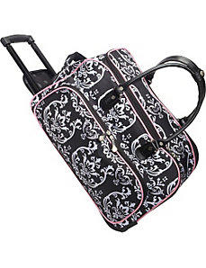 "Damask Carry All 20"" Duffel by Jenni Chan"