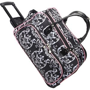"Damask Carry All 20"" Duffel"