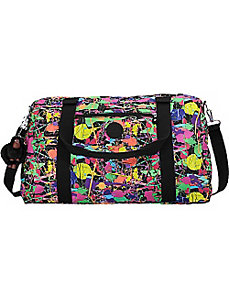 Itska Print Duffle Bag by Kipling