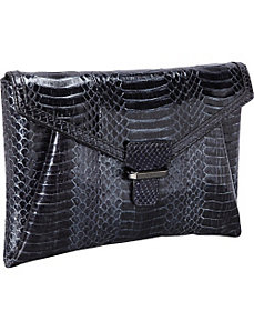 Angeline WaterSnake Envelope Clutch by Rafe New York