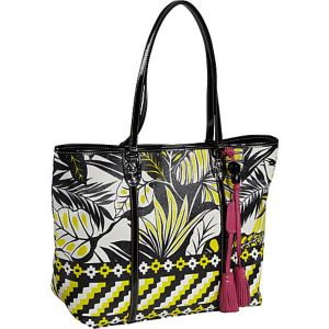 Jesse Printed PVC Medium Tote
