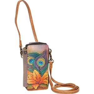 Smart Phone Case & Wallet - Peacock Lily