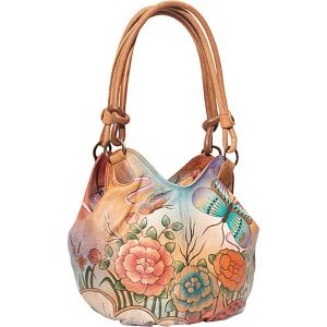 Ruched Box Hobo