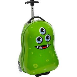 Alien Kids' Rolling Carry On