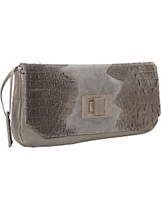 Croco Embossed - Clutch by L.A.M.B.