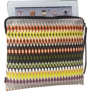 African Dots Tech Pouch