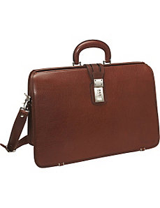 LIVINGSTON LaRomana Laptop Brief Bag by Korchmar