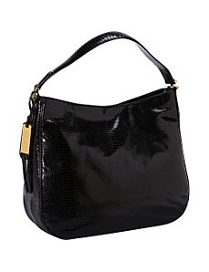 Banbury Snake Hobo by Lauren Ralph Lauren