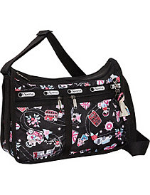 Deluxe Everyday Bag with Charm by LeSportsac
