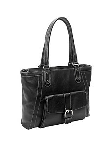 Soho Deluxe Leather Laptop Tote by eBags Laptop Collection