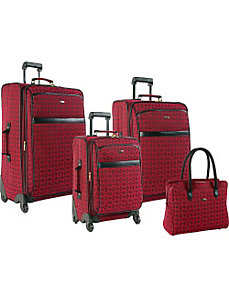 Revolution 4 Piece Luggage Set by Pierre Cardin