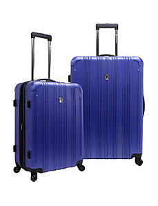 New Luxembourg 2pc Expandable Hardside Luggage Set by Traveler's Choice