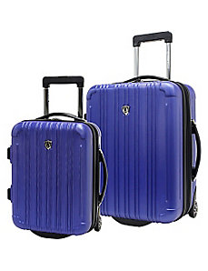 New Luxembourg 2pc Carry-On Hardside Luggage Set by Traveler's Choice
