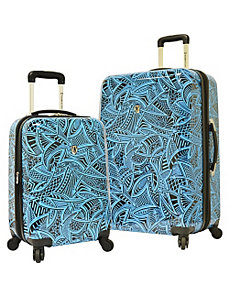 Tribal 2-Piece Hardside Expandable Luggage Set by Traveler's Choice