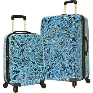 Tribal 2-Piece Hardside Expandable Luggage Set