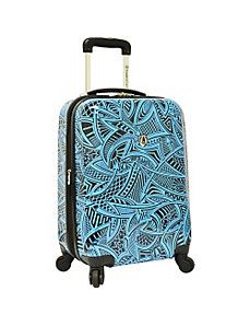 "Tribal 21"" Hardside Carry-On Spinner by Traveler's Choice"