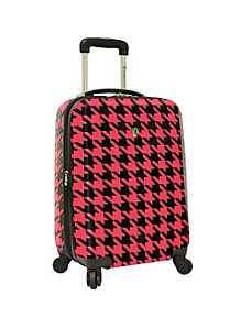 "Houndstooth 21"" Hardside Carry-On Spinner by Traveler's Choice"