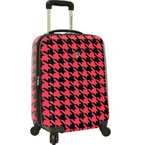 "Houndstooth 21"" Hardside Carry-On Spinner"