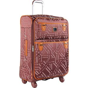 "Modern Tile 24"" Spinner Suitcase"